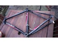 Trek aluminium frame with extras