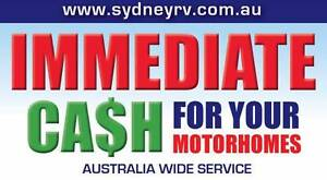 QUICK $$$ CASH FOR YOUR CAMPERVAN OR MOTORHOME TODAY! Penrith Penrith Area Preview