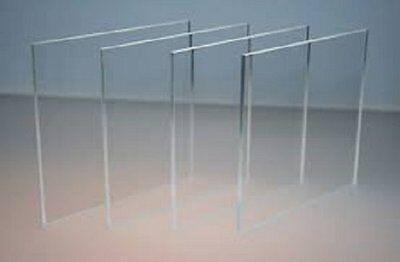 "CAST ACRYLIC/PLEXIGLASS CLEAR  SHEET/BLOCK/SLAB 3/4"" X 24""x 48""*"
