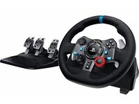 Logitech G29 Driving Force Racing Wheel & Pedals (PC, PS4, PS3) | Collect or Free Delivery