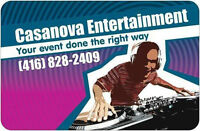 Experience DJ for your event. Top 40, Club, Salsa etc
