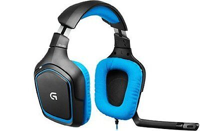 Logitech G430 Gaming Gamer Headset Sound Surround PC & PS4  G.G Gaming Headset Pc