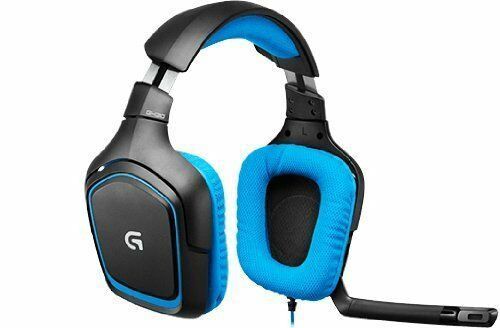 Logitech G430 Gaming Gamer Headset Sound Surround PC & PS4  G.G