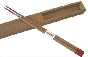 Japanese-Bamboo-Travel-Chopsticks-w-Case-Red-cc72