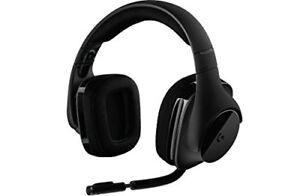 Casque d'écoute sans fil Logitech G533 7.1 Surround Sound Gaming