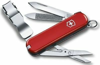 Victorinox Swiss Army Nail Clipper 580 Swiss Army Knife Ruby 0.6463.US2 *NEW*