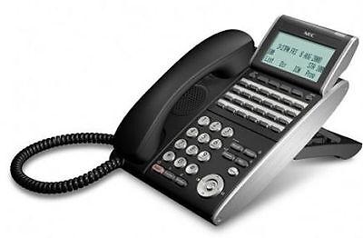 Nec Dtl-24d-1 Bk Tel Dt300 Telephone Dlvxdz-ybk Black Refurb 1 Year Warranty