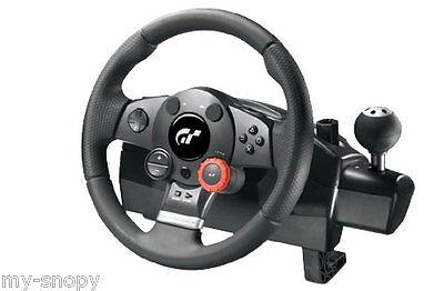 Logitech Driving Force GT Lenkrad - Playstation PS2 / PS3 / PC/  online kaufen