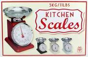Nostalgische Küchenwaage