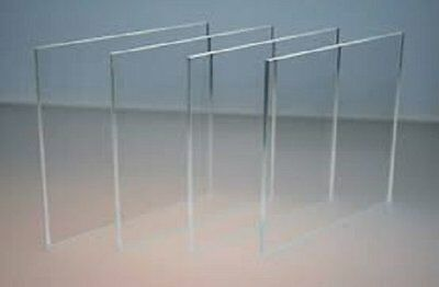4 Pack Clear Cell Cast Acrylic Plexiglass Lucite 14 X 6 X 6