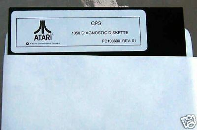 1050 Diagnostic Disk CPS 800/XL/XE/1050 Atari NEW