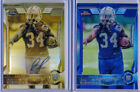 Topps Chrome Autographed Football Trading Cards Lot
