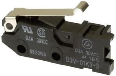 Omron Electronic Components D3m-01k3-3 Microswitch Pack Of 4