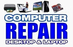 $79.99 FLAT RATE computer repair, laptop repair, We Come To You