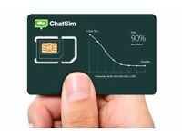 Chatsim World - Global Sim Card To Chat With Whatsapp, Telegram etc no Roaming cost at only 10£/Year