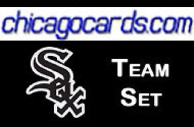Chicago White Sox 163cd 2008 Documentary Team Set 11x Griffey 20x Alexei Ramirez