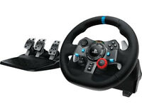 G29 Steering wheel and pedals