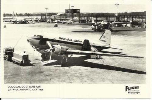 Dan Air Airways Airlines Playing Cards Complete In Specifications Transportation Collectables Aeronautica