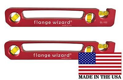 2 Each Flange Wizard Sl-100 Standard Pocket Level 9 Long Wide Magnetic