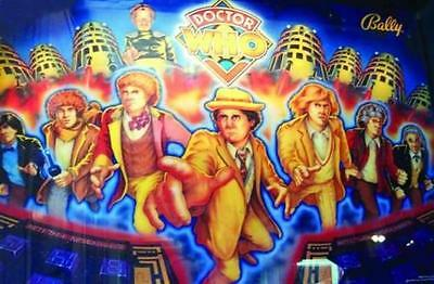 DOCTOR WHO DIRTY HARRY FLINTSTONES INDIANA JONES Pinball Cabinet Light Mod BLUE