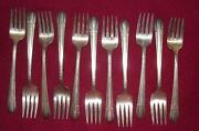 Silverplate Salad Forks