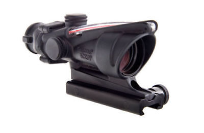 Trijicon TA31F ACOG 4x32 Scope Illuminated Red Chevron Flattop .223 - 100215