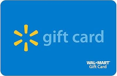 $100 Walmart Sam's Club Gift Card FAST FREE SHIPPING! on Rummage