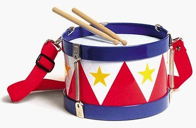 Schylling Tin Drum Musical Instrument Toy perfect For Children Kids Play Fun