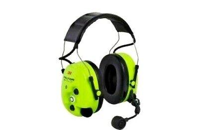 3m Peltor Ws Protac Xp Ground Mechanic Hi-viz Premium Headset Mt15h7aws5-01 Gb