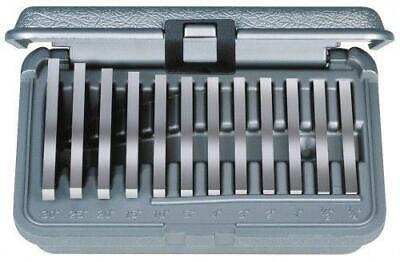 Brown Sharpe 599-921-18 Ultra Precision 12pc Angle Block Set 14-30 Blocks