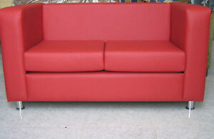 Divano 2 posti ecopelle divanetto sof poltrona relax made in italy ebay - Divano ecopelle 2 posti ...