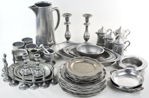 Carson Pewter Plates Ebay