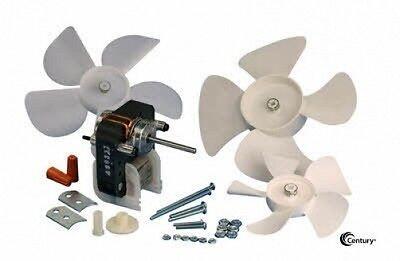 C-frame Refrigeration Evaporation Fan Motor Kit 3000 Rpm 120v Century C01700