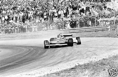 Gilles  Villeneuve Dutch GP F1 1979 10x8 Photo