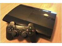 PS3 Super Slim Console With Controller And Game