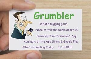 Grumbler App - Free on the App Store and Google Play London Ontario image 1