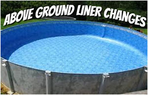 Above ground pool repairs and installation / piscine hors terre