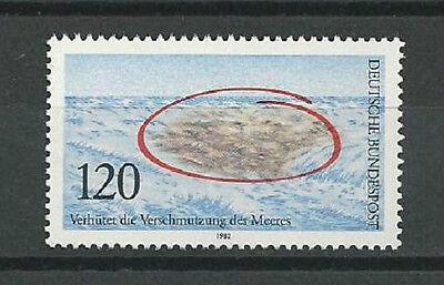 1982) postfrisch/Verhütung der Verschmutzung des Meeres (Verschmutzung Poster)