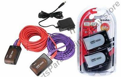 HDMI long extender cable/cord/wire HDTV/Plasma/TV/LED/LCD/DVR/DVD 1080p v1.3{+PS (Plasma-tv-led)