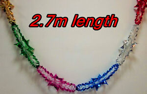 4pcs-2-7M-X20cm-FOIL-Garland-Christmas-Tree-Ceiling-XMAS-Party-Decorations