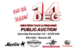 Western Tack & Firearms Public Consignment Auction