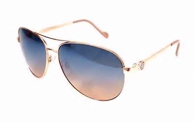 Jessica Simpson J5596-RGDND Rose Gold Nude Aviator Womens Sunglasses with (Jessica Simpson Gold Aviator Sunglasses)