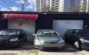 Garage lease buy or rent commercial office space in auto mechanic place for rent in down town toronto solutioingenieria Choice Image