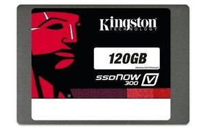 Kingston 120GB SSDNow V300 Solid-State Drive - 2.5in. SATA - 450