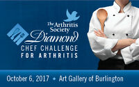 Diamond Chef Challenge for Arthritis