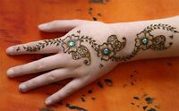 Henna/Mehndi temporary tattoos available for your events