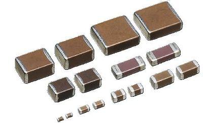100 pcs NEW 0.1uF 50V monolithic ceramic chip capacitor 104 Yellow W5J6