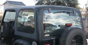 0 IIIII 0 Hard Top Black Jeep TJ 1997 -2006.