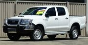 2015 Toyota Hilux KUN26R MY14 SR (4x4) White 5 Speed Automatic Dual Cab Pick-up Lismore Lismore Area Preview