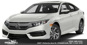 2016 Honda Civic EX $142 Bi-Weekly